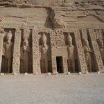 Temple of queen Nefatari at Abu Simbel