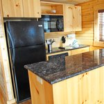 All cabins have kitchens