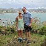 it is windy on pigeon Island make sure you wear sneakers not flip-flops