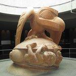 Bill Reid's magnificent sculpture of the Haida creation myth