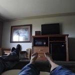 Relaxing in #203