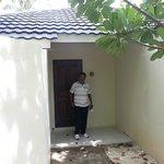 entry of beach villa
