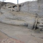 statue of parinibbana