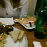 Chef's choice Sushi platter and starter platter