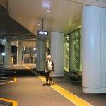Arrêt navette aéroport Haneda