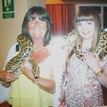 This was the reptile show in the hotel!