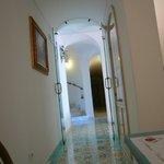 corridoio dell' hotel