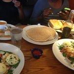 pancake and lobster fritara