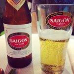 Bonne bière vietnamienne.