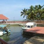 Resort jetty area