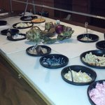 Salad Bar - Freshly made, in house - Country Height Supper Club - Hazel Green WI