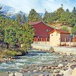 Hot Springs Along Chalk Creek