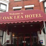 Oak Lea Hotel front entrance 2013
