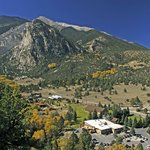 Aerial View of Mount Princeton Hot Springs Resort