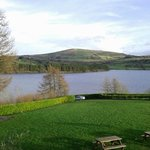 View from Bar terrace overlooking Blessington Lakes