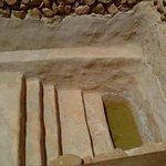 Une des nombreuses mikvé, là où se purifié 3 fois par jour les Esseniens