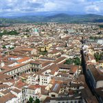 View from the Duomo in Firenze