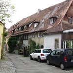 Klosterhof view of hotel!