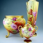 The largest Pickard China exhibit in the U.S. is at Helen Jeffris Wood