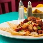 Exquisito Pulpo Mongo! Los Arcos Restaurant