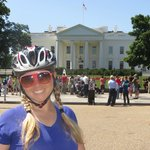 Rode our bikes from the Hotel...all over DC...