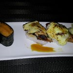Nigiri anguille camembert