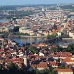 Charles Bridge from Petrin Tower