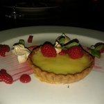 Yum, lemon tart