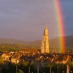 Zur Abwechslung, ein riesiger Regenbogen!