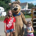 Kids with Boo Boo Bear