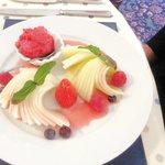 Melon & sorbet starter