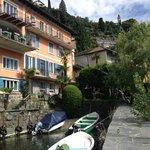 Teil des Hotels an der Wasserseite