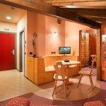 Soggiorno e Cucina Suite Relax Corallo
