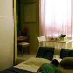 Green room....