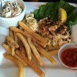 Crab Cakes platter