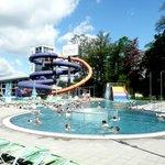Aquapark outer pool
