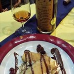 Sweet wine from andalusia and our spanish crepes