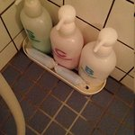 shampoo, conditioner & body wash