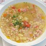 Tradizionale e saporita minestra d'orzo
