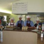 Friendly staff and happy customer!