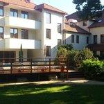 Hotel from gardenside