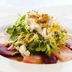 Candy Strip & Red Beets Salad
