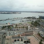 View of USS Midway from Hyatt