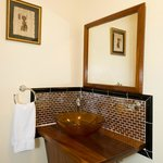 Small Villa lower level bathroom