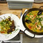 Lamb Shank and Seafood Paella