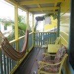 Balcony & Hammock of Cabana 5