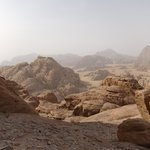 top of the mountain - Wadi Rum