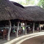 Scenic restaurant - the best food this side of Africa!