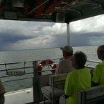 Sailing through shine or rain.