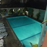 Pool im 3. Stock